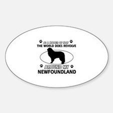 NewFoundland Dog breed designs Decal