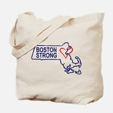Boston Strong Heart Tote Bag