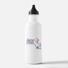 Boston Strong Heart Water Bottle