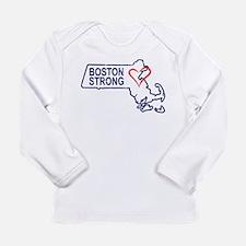 Boston Strong Heart Long Sleeve T-Shirt