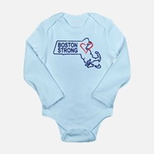 Boston Strong Heart Body Suit