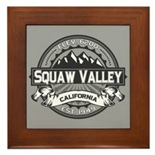 Squaw Valley Grey Framed Tile