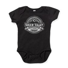 Squaw Valley Grey Baby Bodysuit