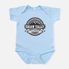 Squaw Valley Grey Infant Bodysuit