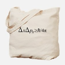Heisenberg Uncertainty Principle Tote Bag
