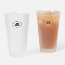 ABD Oval Drinking Glass