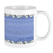 Jane Eyre Am I Hideous Quote Small Mug