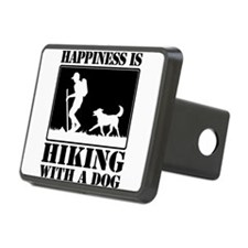Happiness is Hiking with a Dog Hitch Cover