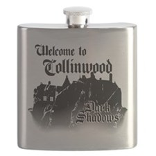 Dark Shadows Welcome To Collinwood Flask