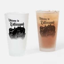 Dark Shadows Welcome To Collinwood Drinking Glass