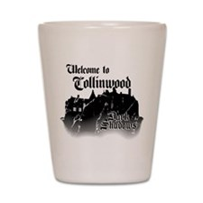 Dark Shadows Welcome To Collinwood Shot Glass