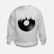 New York City Vinyl Record Sweatshirt
