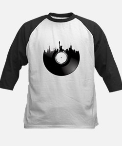 New York City Vinyl Record Baseball Jersey