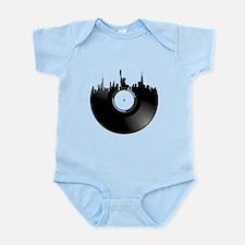New York City Vinyl Record Body Suit