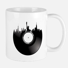 New York City Vinyl Record Mug