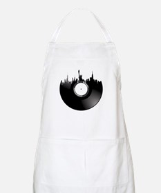 New York City Vinyl Record Apron