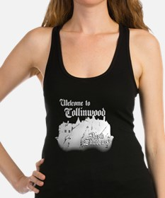 Dark Shadows Welcome To Collinwood Racerback Tank