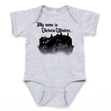 Dark Shadows Victoria Winters Baby Bodysuit