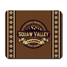 Squaw Valley Sepia Mousepad