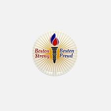 Boston Strong, Boston Proud Torch Mini Button (10