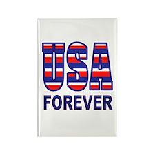 USA FOREVER Rectangle Magnet