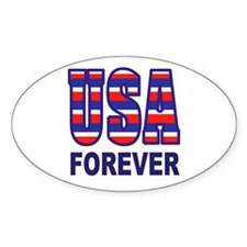 USA FOREVER Bumper Stickers