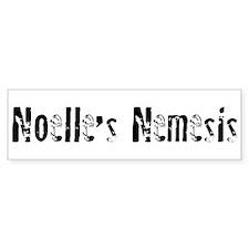 Noelle's Nemesis Bumper Bumper Sticker