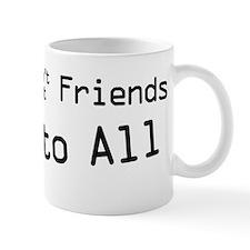 Reply to All B on W Mug