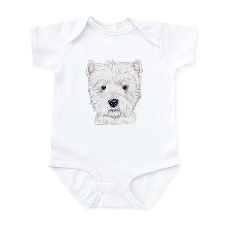 Westhighland White Terrier Infant Bodysuit