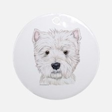 Westhighland White Terrier  Ornament (Round)