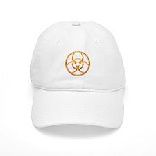 Biohazard Gold Baseball Baseball Baseball Cap