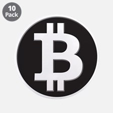"Bitcoin 3.5"" Button (10 pack)"