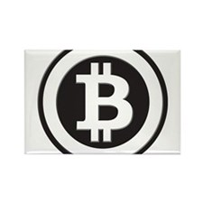 Bitcoin Rectangle Magnet (10 pack)