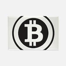 Bitcoin Rectangle Magnet