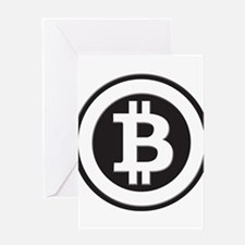Bitcoin Greeting Card