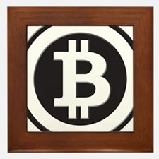 Bitcoin Framed Tile