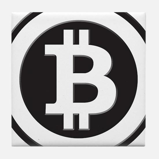 Bitcoin Tile Coaster