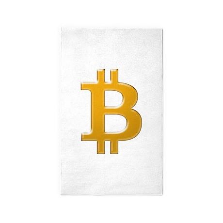 Bitcoin 3'x5' Area Rug