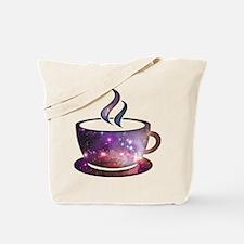 Cosmic Coffee Tote Bag