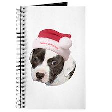 Christmas American Pit Bull Terrier Journal