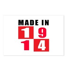 Made In 1914 Postcards (Package of 8)