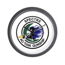 AC-130A Spectre Wall Clock