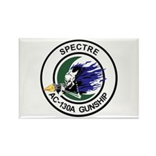 AC-130A Spectre Rectangle Magnet