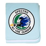 AC-130E Spectre baby blanket