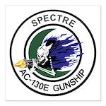 AC-130E Spectre Square Car Magnet 3