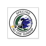 AC-130E Spectre Square Sticker 3