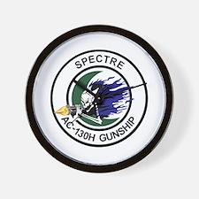 AC-130H Spectre Wall Clock