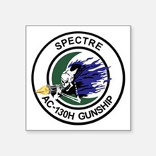 "AC-130H Spectre Square Sticker 3"" x 3"""