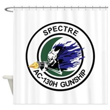 AC-130H Spectre Shower Curtain