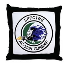 AC-130H Spectre Throw Pillow